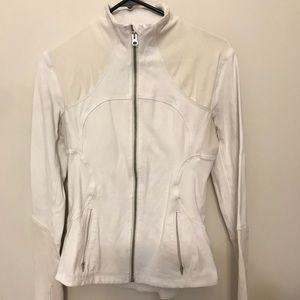 Lululemon forme off white jacket
